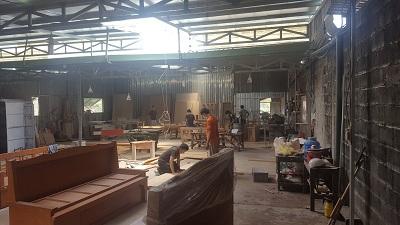 xưởng sản xuất nội thất của mạnh hệ